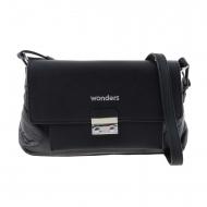 Borsa a tracolla nera WB-46151 Wonders