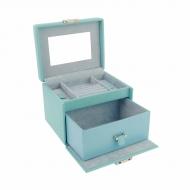 Piccola scatola di gioielli con manico