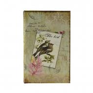 Sicuro con il libro di tipo uccello