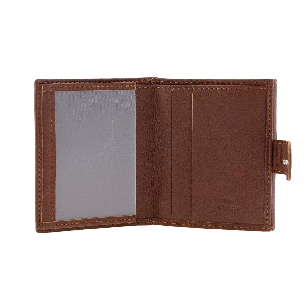 6b01c9b007 Piccolo portafoglio in pelle con mini incisione - Paula Alonso ...
